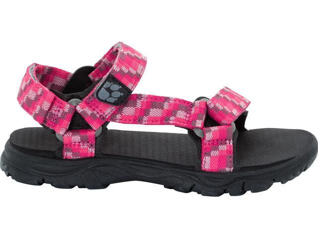 Jack Wolfskin Seven Seas 2 Sandaalit Tytöt, tropic pink